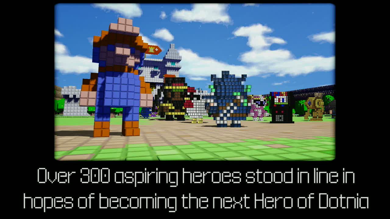 Heroes of Dotnia | 3D Dot Game Heroes