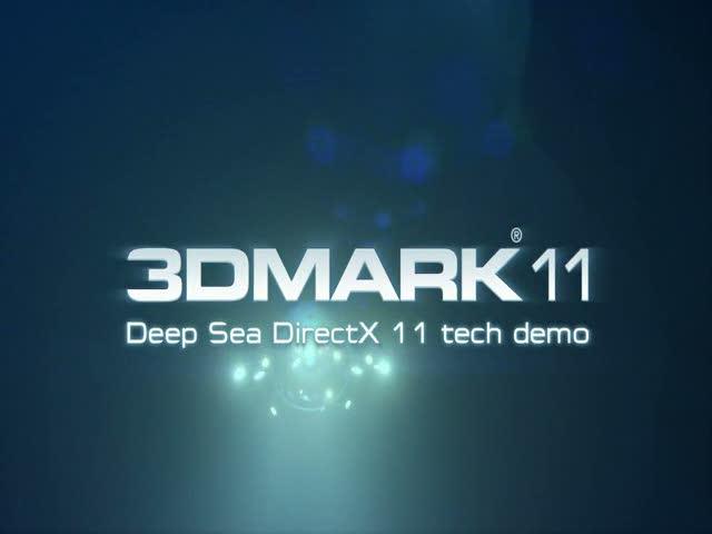 'Deep Sea' tech demo video | 3D Mark 11