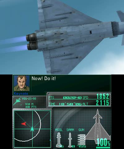 3DS Gameplay Trailer | Ace Combat Assault Horizon Legacy