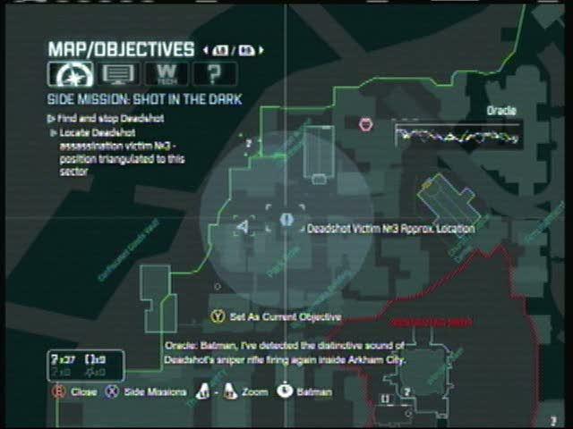 Deadshot Side-Mission Body 3 | Batman: Arkham City