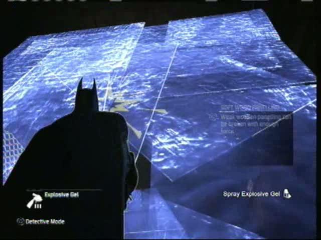 Industrial District - Behind Three Demo Walls | Batman: Arkham City