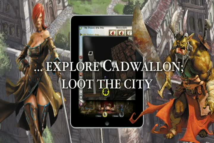 Cadwallon: City Of Thieves  Videos and Trailers