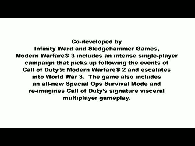Launch day trailer | Call of Duty: Modern Warfare 3