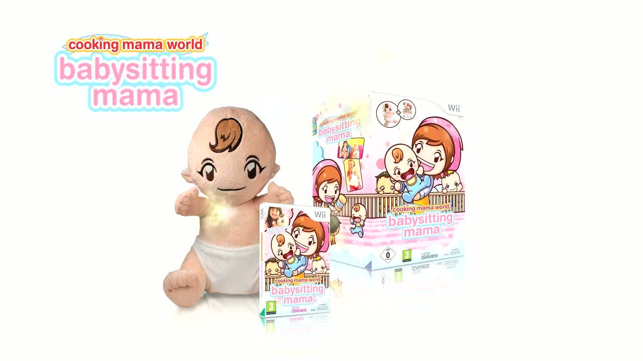 Cooking Mama World: Babysitting Mama  Videos and Trailers