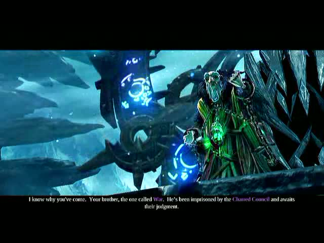 The Keeper of Secrets - War's Shade Boss Battle | Darksiders 2