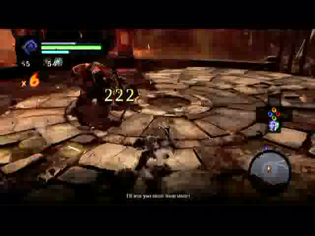 The Fire of the Mountain - Charred Pass, Helping Karm | Darksiders 2