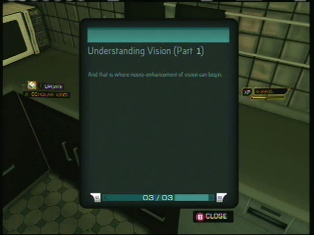 ebook16 Understanding Vision (Part 1) | Deus Ex: Human Revolution