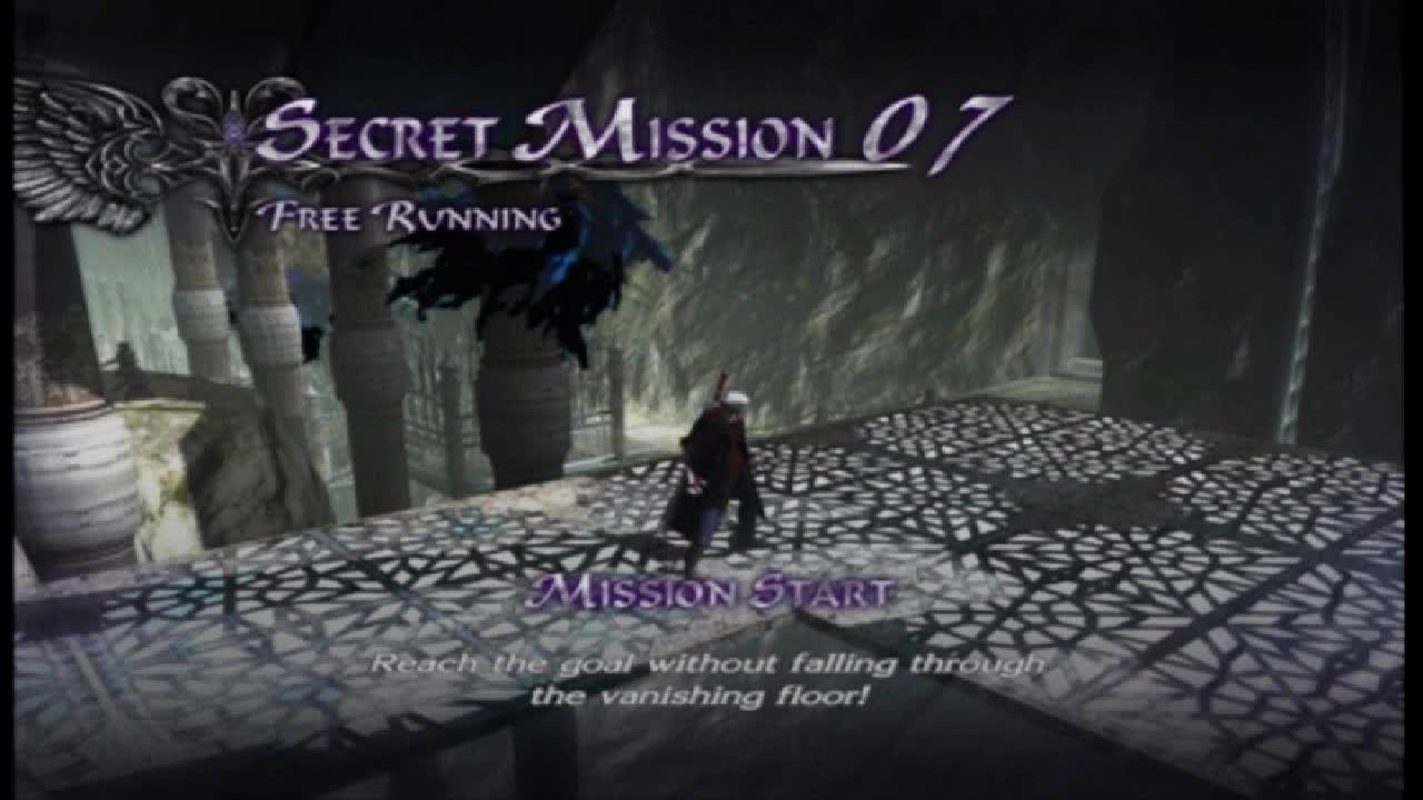 Secret Mission 07 -- Free Running | Devil May Cry 4