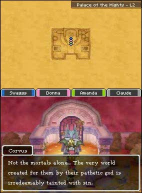 BOSS: Corvus | Dragon Quest IX: Sentinels of the Starry Skies