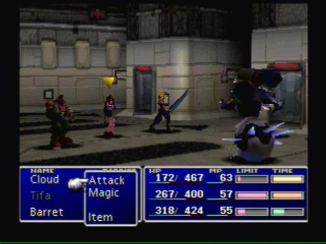 Raiding Shinra HQ!, video 2 | Final Fantasy VII