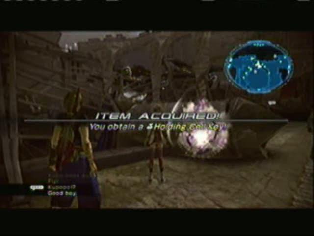 Returning to Bresha Ruins AF005 - Comms | Final Fantasy XIII-2