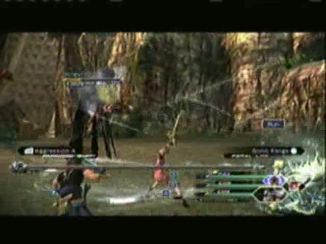 Yaschas Massif AF01X - The Gorgyra Boss Battle | Final Fantasy XIII-2