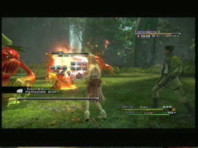A Wish for Daddy - Flandragora Battle | Final Fantasy XIII