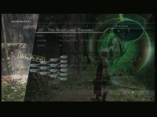 Titan's Trial - Stone Mission 35 | Final Fantasy XIII