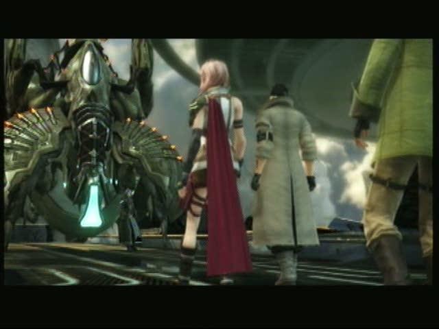Eden Under Siege - The Proudclad Boss Battle | Final Fantasy XIII