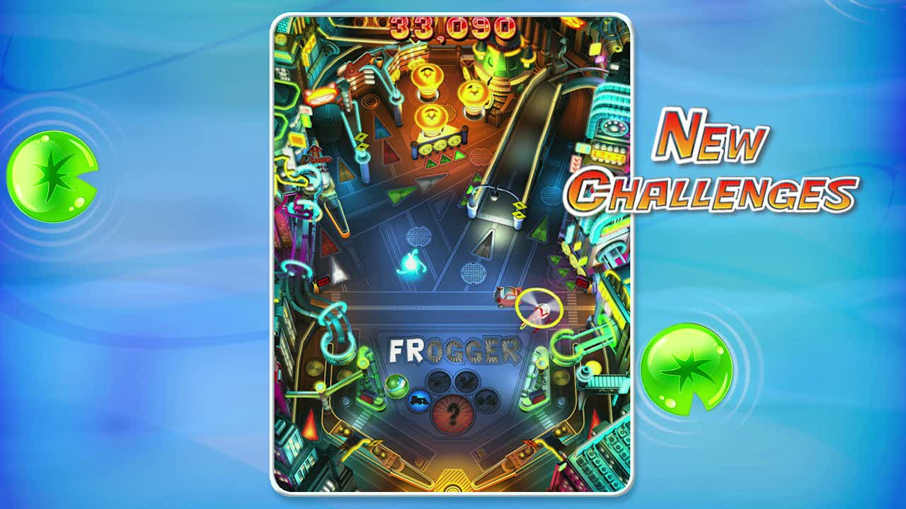 E3 Trailer | Frogger Pinball Frenzy