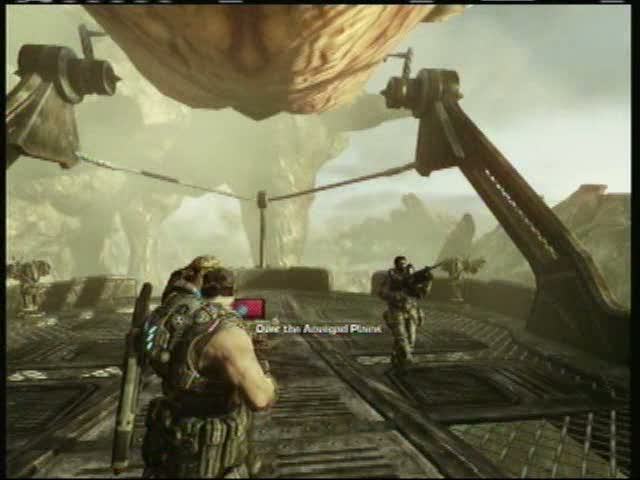 Act II Chapter VI -- Airborne - Reunited with Dizzy | Gears of War 3