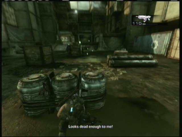 Act IV Chapter IV --  Batten Down the Hatches - Checking out the | Gears of War 3