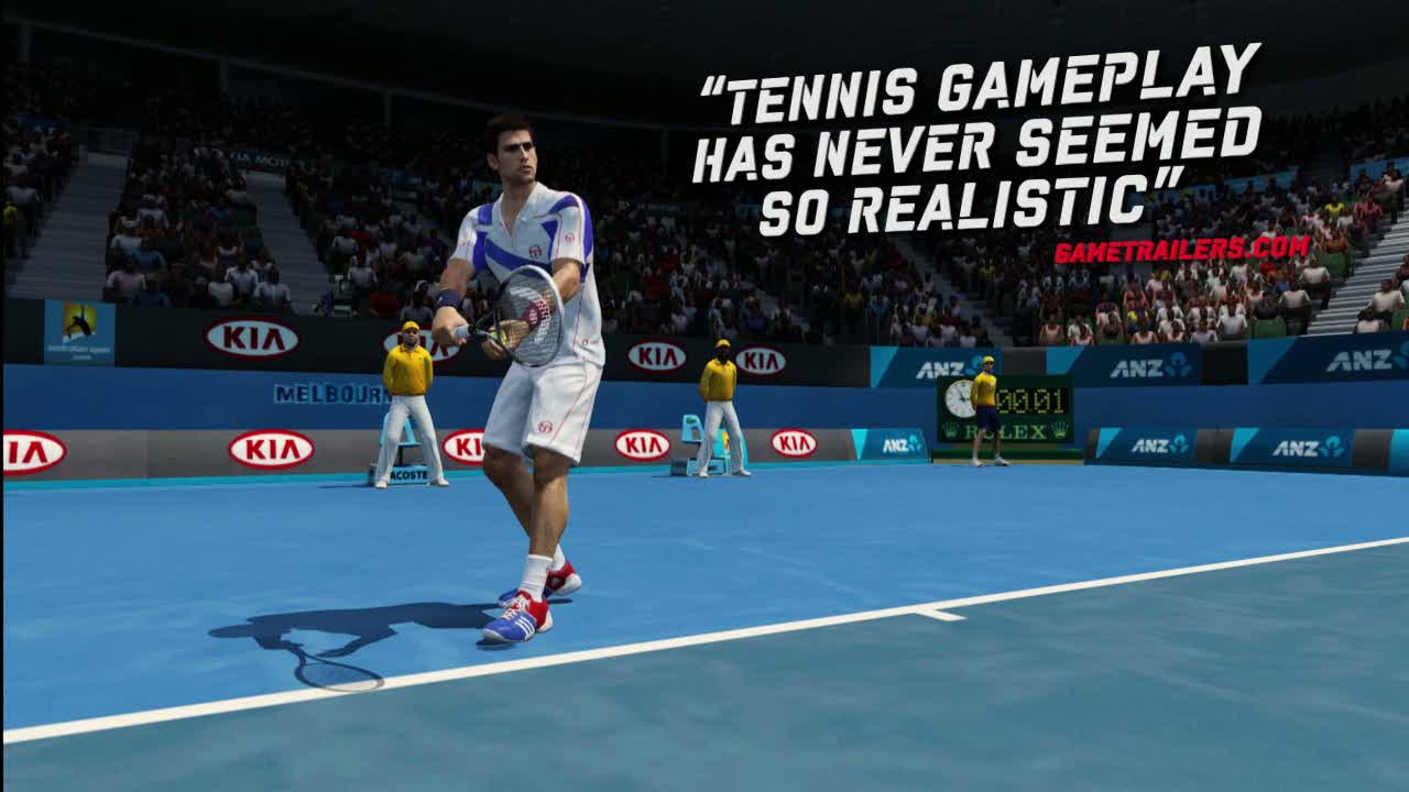 Grand Slam Tennis 2  Videos and Trailers