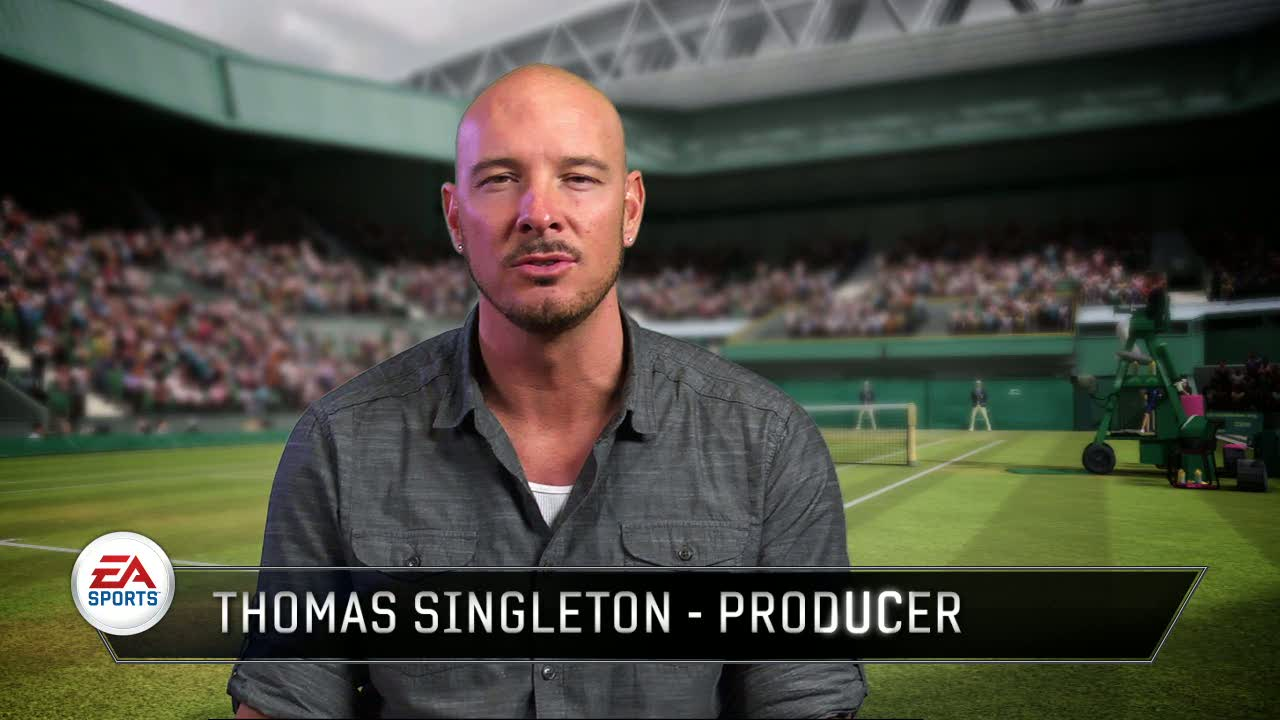 Thomas Singleton Producer Video | Grand Slam Tennis 2