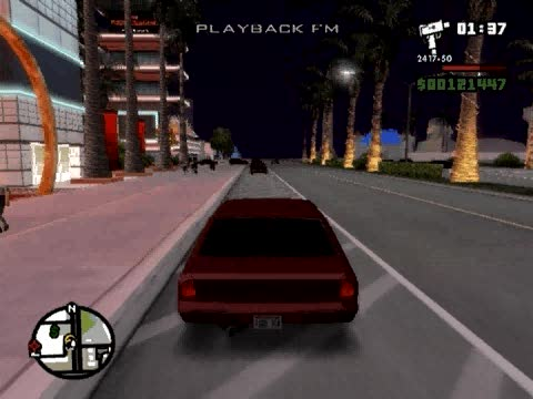 Cars Float after Collision Cheat | Grand Theft Auto: San Andreas