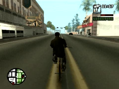 Jump Higher on BMX Cheat | Grand Theft Auto: San Andreas