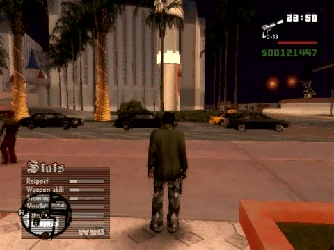 Set day to night cheat | Grand Theft Auto: San Andreas