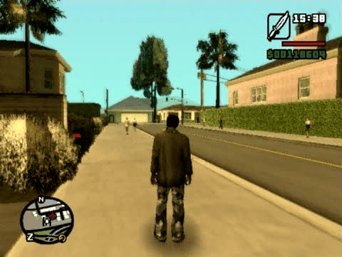 Overcast Weather Cheat | Grand Theft Auto: San Andreas