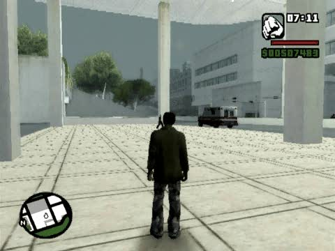 Spawn Tanker Cheat | Grand Theft Auto: San Andreas