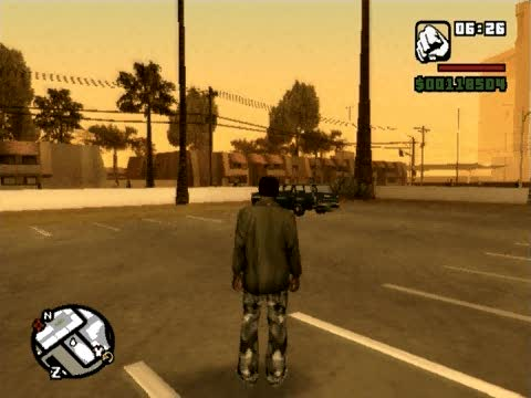 Weapons 1 Cheat | Grand Theft Auto: San Andreas