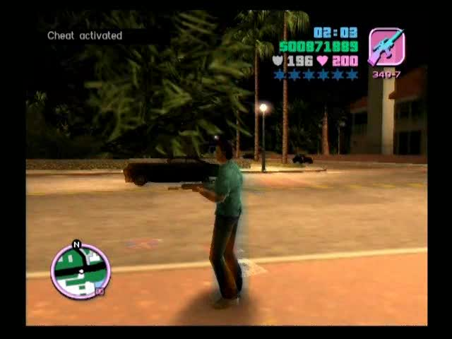 Inputting Cheats | Grand Theft Auto: Vice City