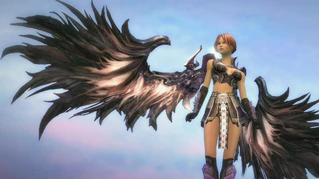 Short Aion Wings Clip | Guild Wars