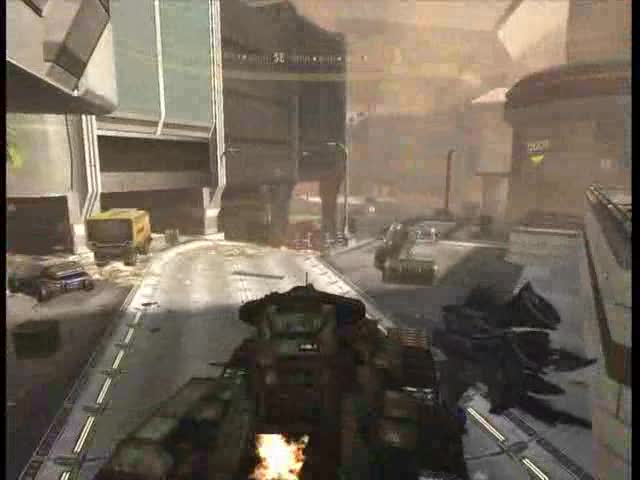 Kizingo Boulevard: Collecting Rocket Launcher ammo. | Halo 3: ODST