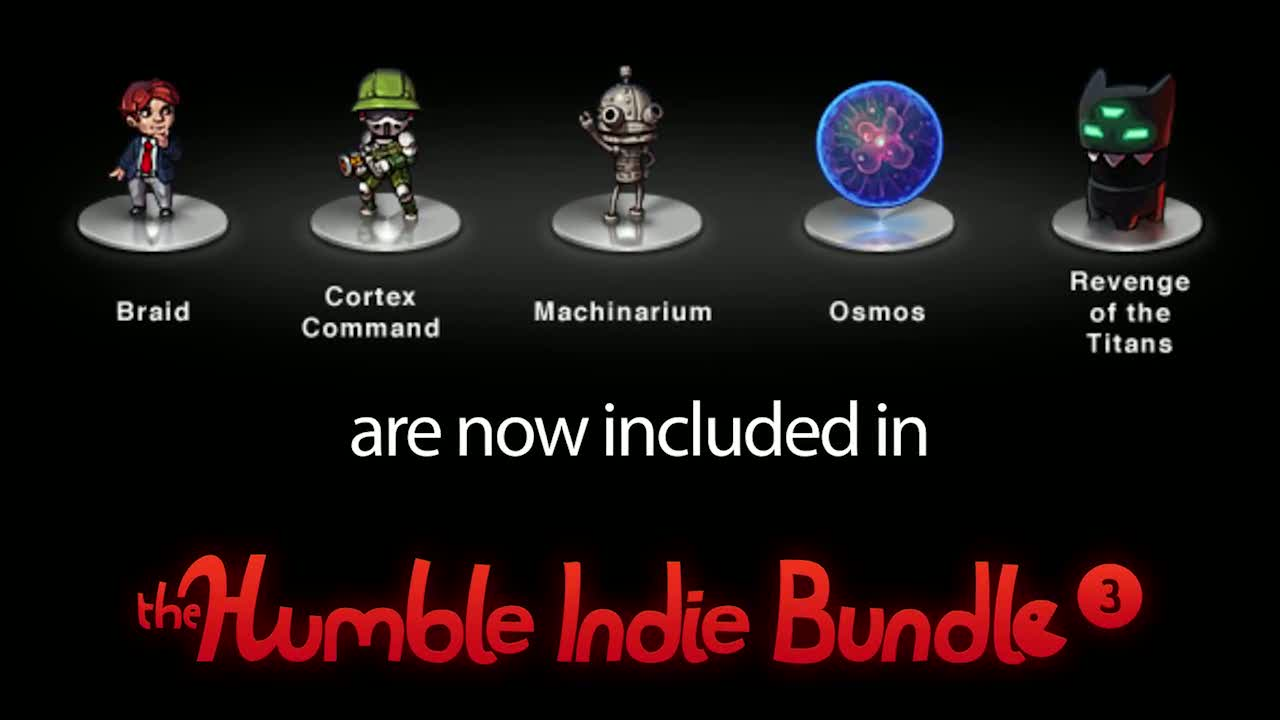 Humble Indie Bundle 3  Videos and Trailers