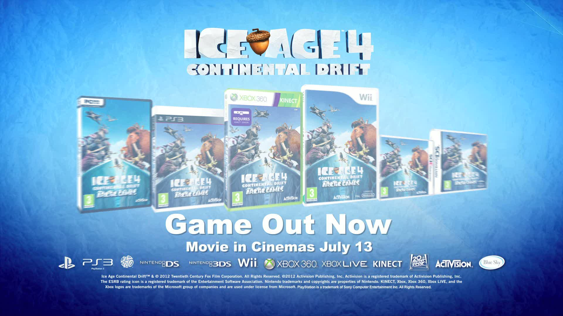 Ice Age: Continental Drift - Arctic Games  Videos and Trailers
