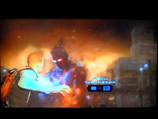 First encounter with the Beast | inFamous 2
