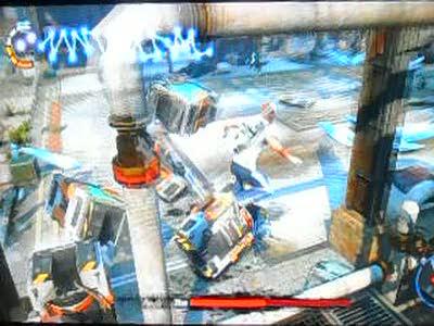 Forced Conduits - Titan Battle   inFamous 2