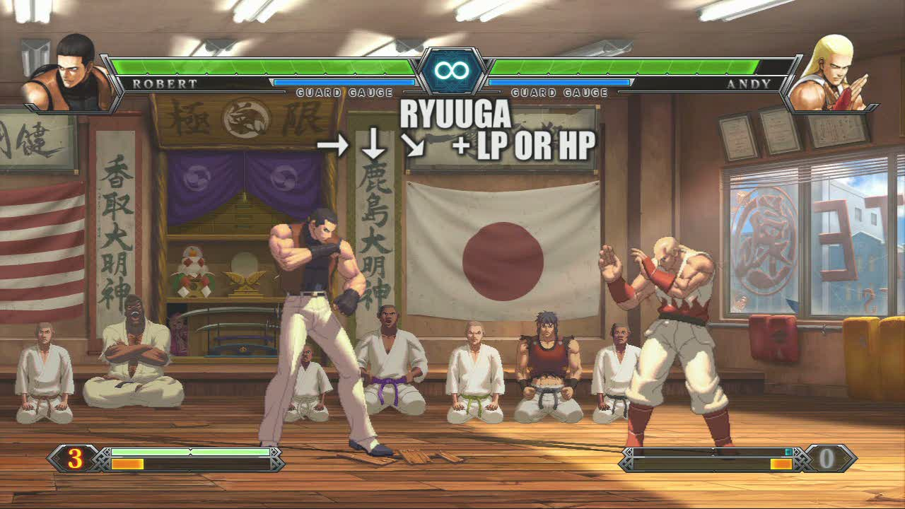 Team Art of Fighting - Robert | King of Fighters XIII