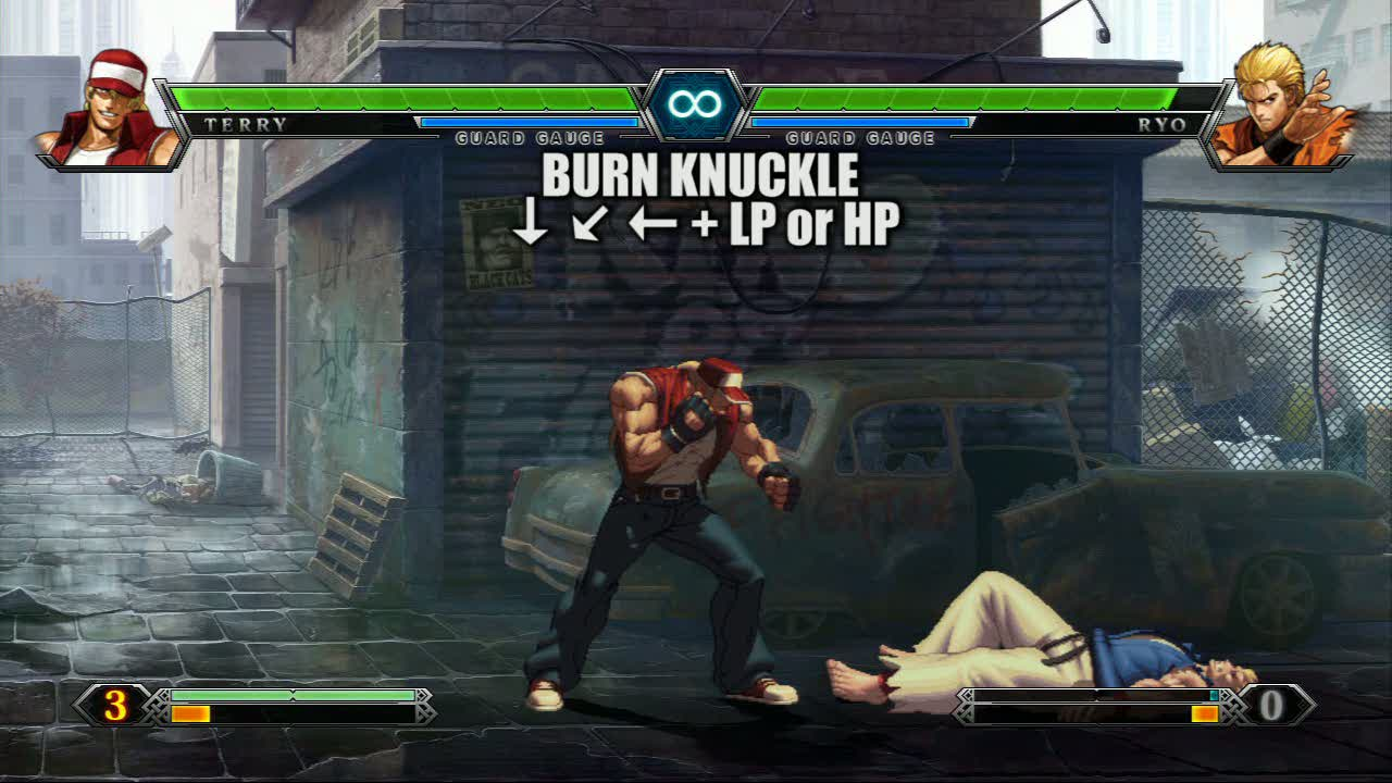 Team Fatal Fury - Terry Video | King of Fighters XIII