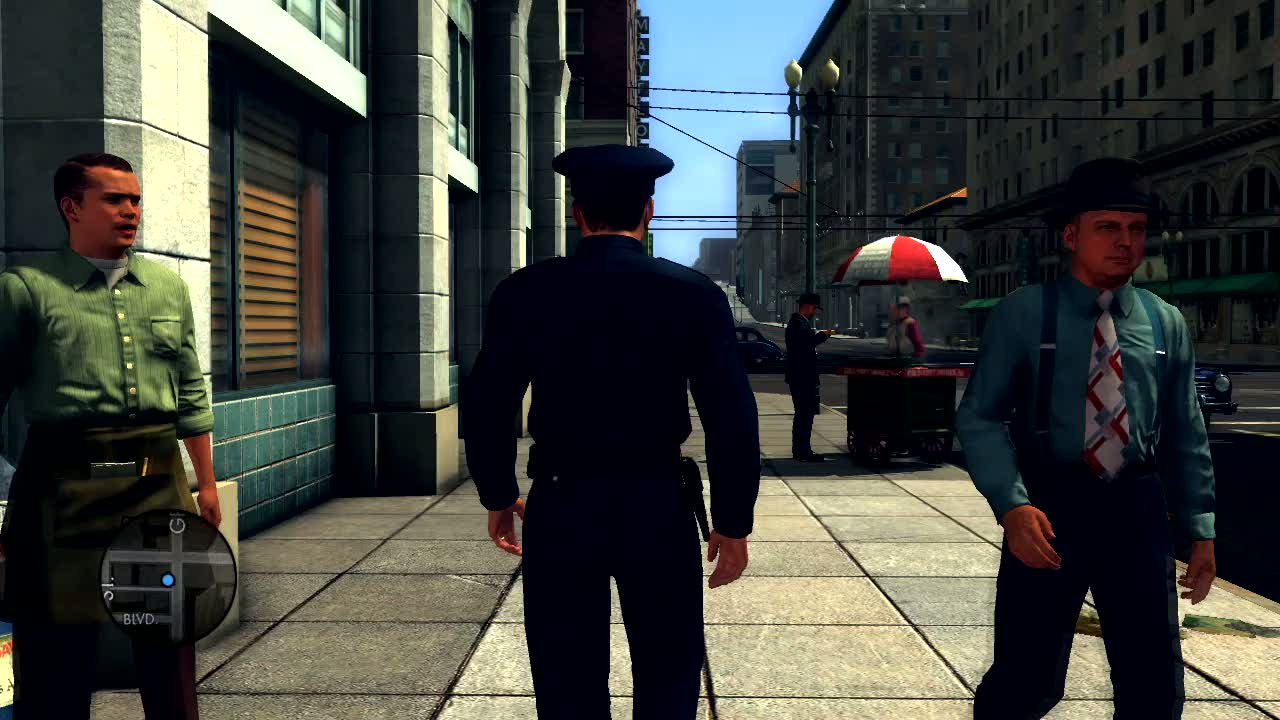 Core mechanics reveal video | L.A. Noire