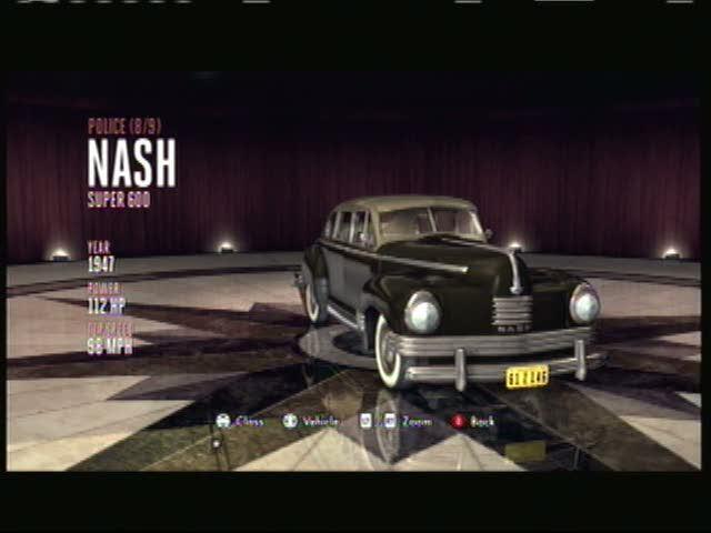 The Car Catalog | L.A. Noire