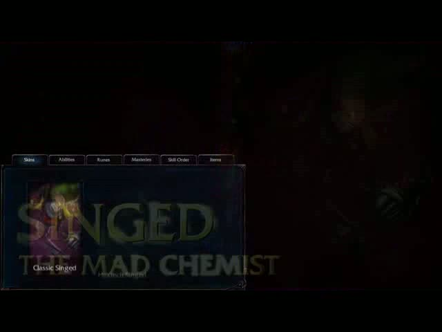 Singed Champion Spotlight Video | League of Legends