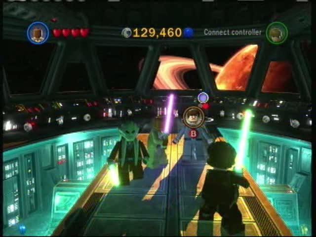 Buying New Characters | Lego Star Wars III: The Clone Wars