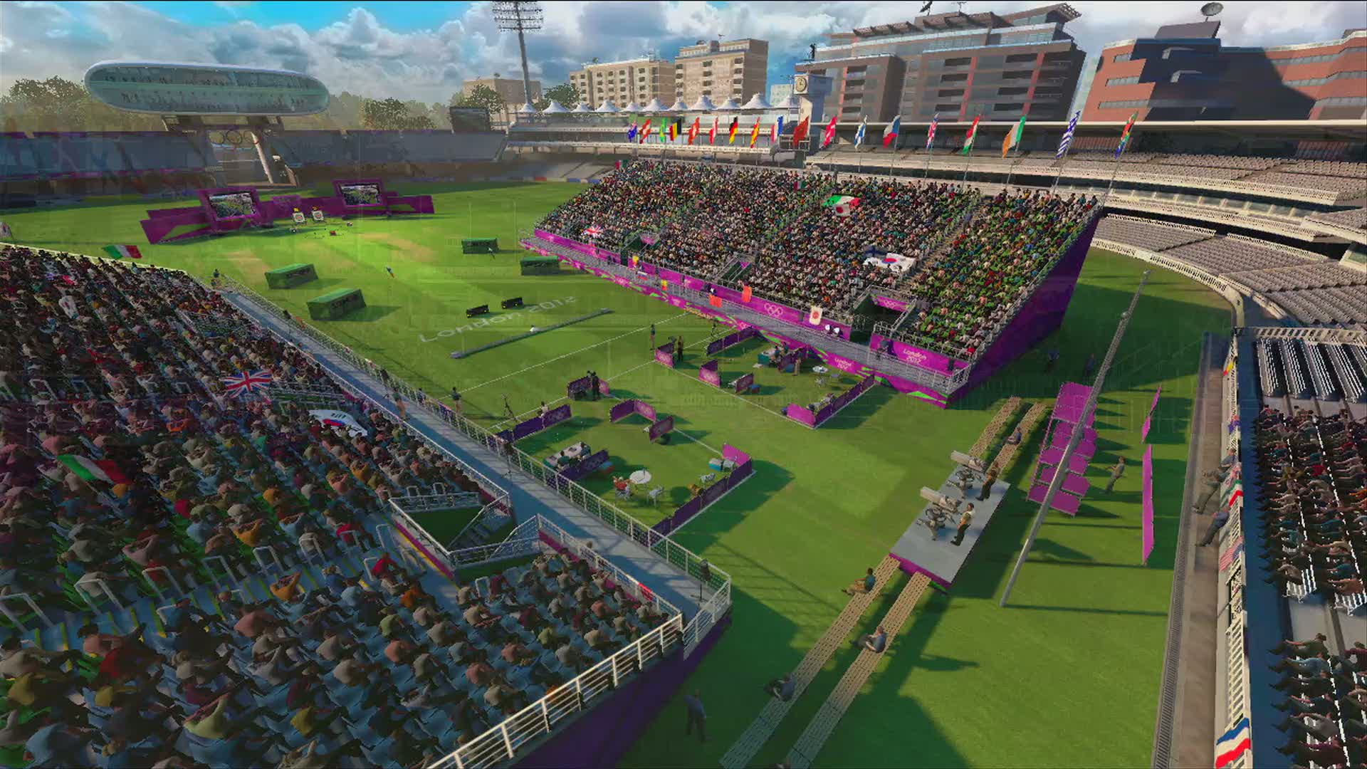 Lords Flythtough Video | London 2012: The official video game of the Olympic Games