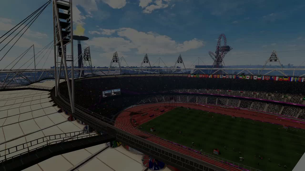 Olympic Stadium Fly Through Video | London 2012: The official video game of the Olympic Games