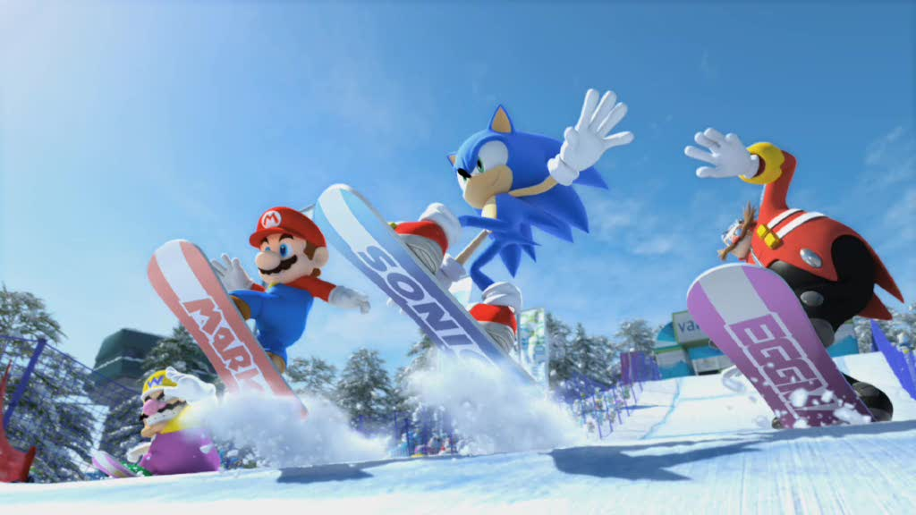 Mario & Sonic at the Olympic Winter Games  Videos and Trailers