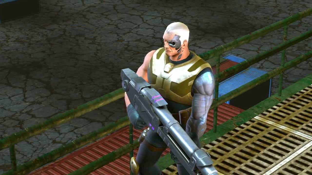 'Cable Superhero Profile' Video | Marvel Heroes