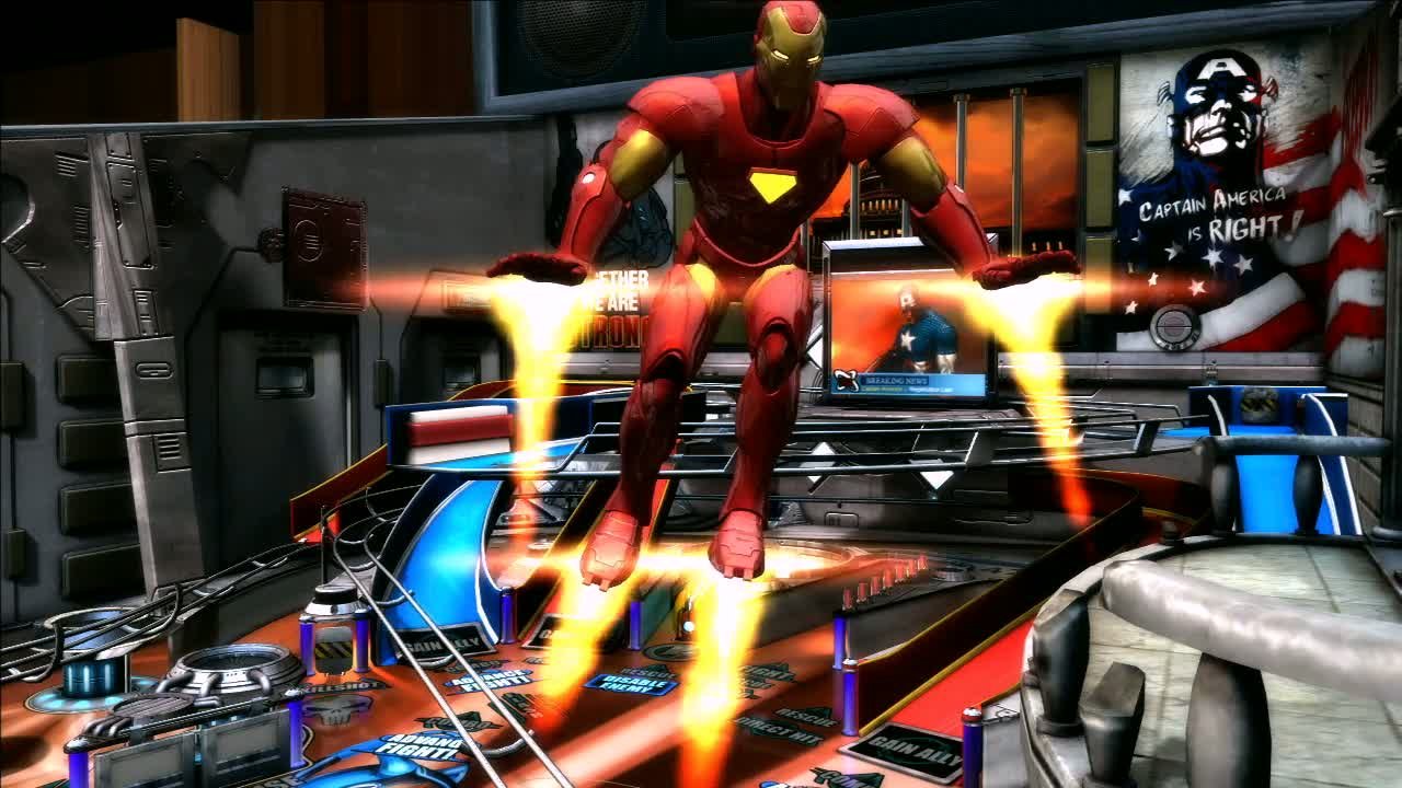 Marvel Pinball  Videos and Trailers