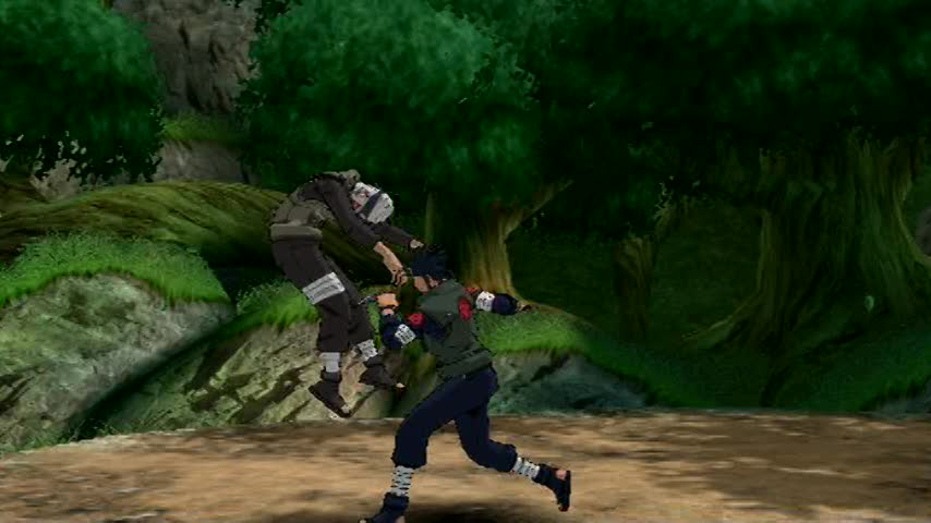 Asuma, Shikamaru and Choji's jutsu moves | Naruto Shippuden: Clash of Ninja Revolution 3