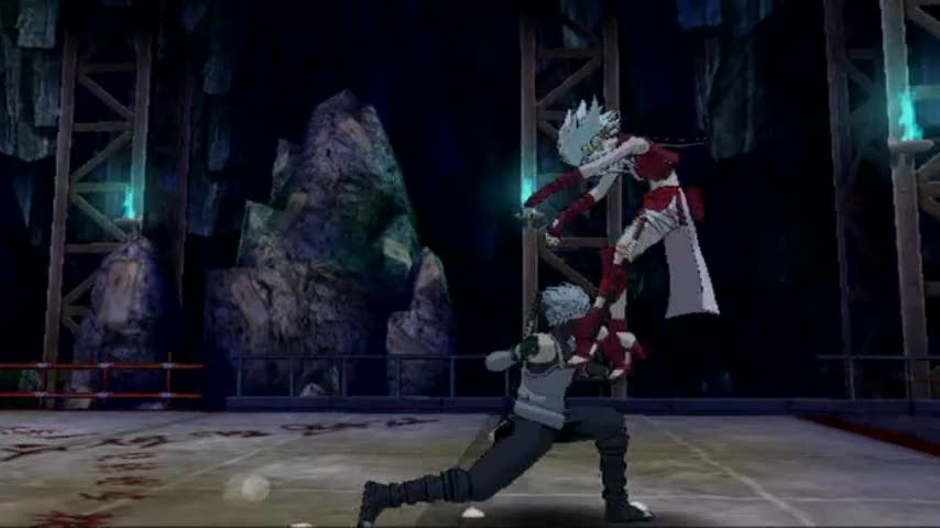 Anbu Kakashi jutsu moves video | Naruto Shippuden: Clash of Ninja Revolution 3